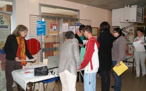 Salon du 26 octobre 2011 - Stand